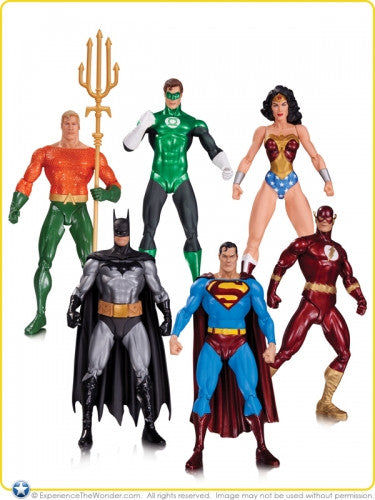 Alex Ross Justice League Action Figure 6 Pack-DC Collectibles- www.superherotoystore.com-Action Figure