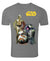 Star Wars Droids Without Grunge Effect Grey Melange T-Shirt -Frog - India - www.superherotoystore.com