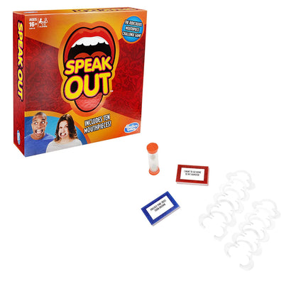 Speak out Board Game by Hasbro