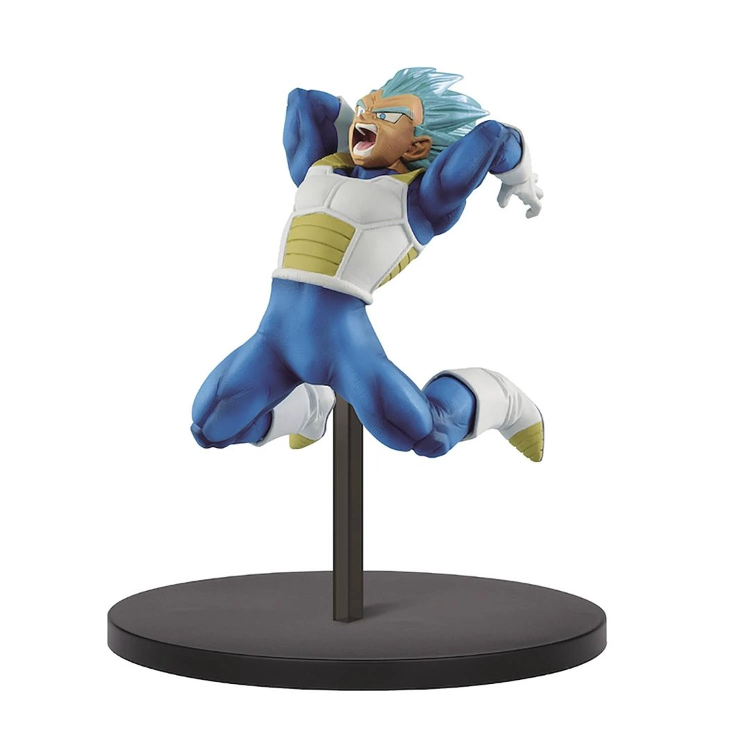 Dragon Ball Super SS Saiyan God Super Saiyan Vegeta Chosenshiretsuden Vol.7 Statue by Banpresto -Banpresto - India - www.superherotoystore.com