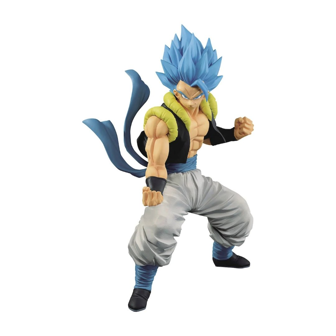 Dragon Ball Super SS God Super Saiyan Gogeta Statue by Banpresto