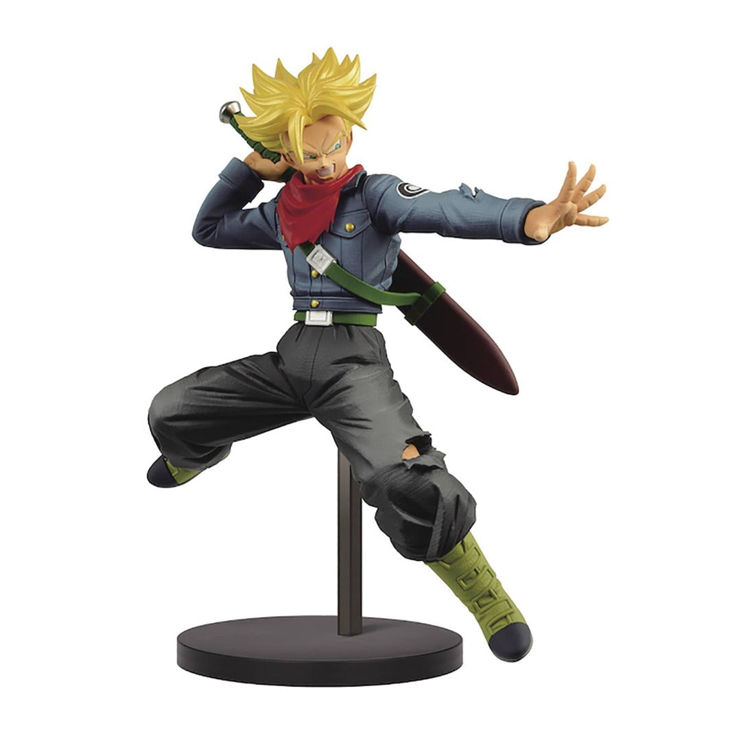 Dragon Ball Super Chosenshi Retsuden II Super Saiyan Trunks Statue by Banpresto -Banpresto - India - www.superherotoystore.com