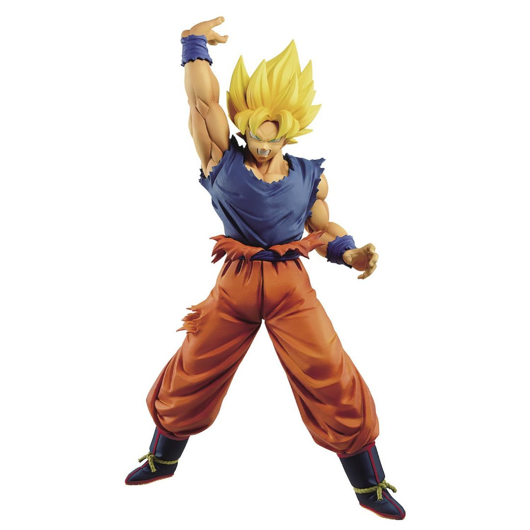 Dragon Ball Z Maximatic Super Saiyan Goku IV Statue by Banpresto -Banpresto - India - www.superherotoystore.com
