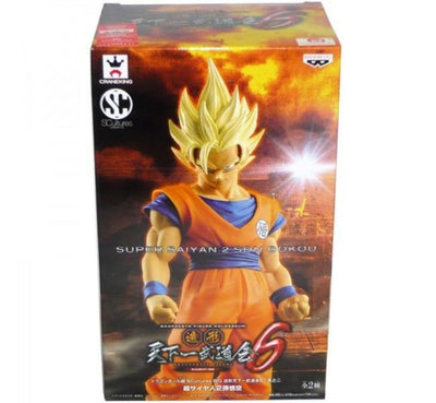 Dragon Ball Z Super Saiyan 2 Son Goku figure by Banpresto