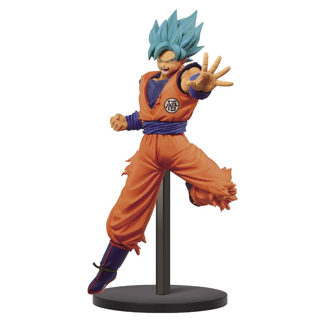 Dragon Ball Super Chosenshiretsuden II Vol. 4 (A : Super Saiyan God Super Saiyan Son Goku) Figure by Banpresto -Banpresto - India - www.superherotoystore.com