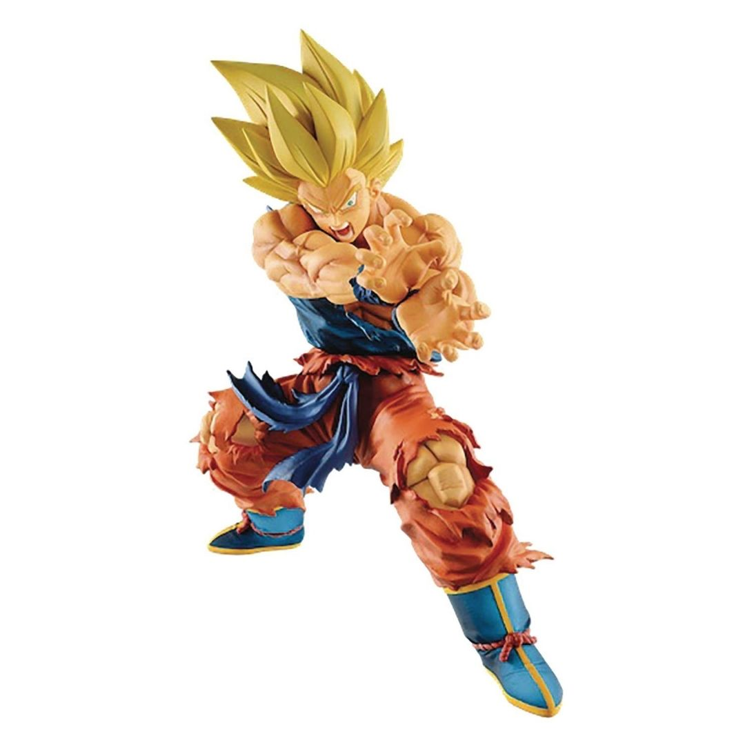 Dragon Ball Legends Collab - Kamehameha Son Goku Figure by Banpresto -Banpresto - India - www.superherotoystore.com