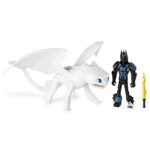 How To Train Your Dragon Lightfury & Hiccup Action Figure by Spin Master