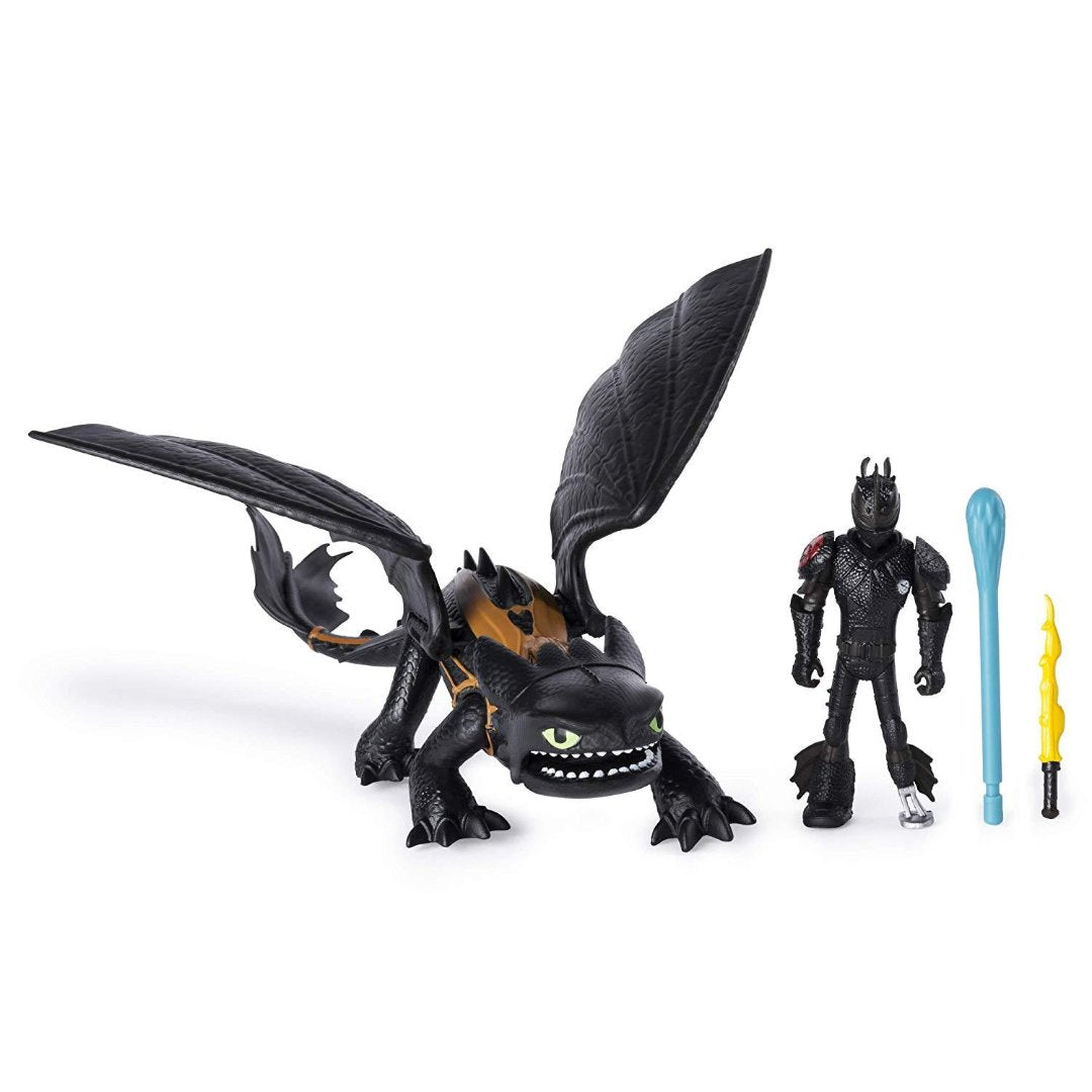 How To Train Your Dragon Toothless & Hiccup Action Figure by Spin Master