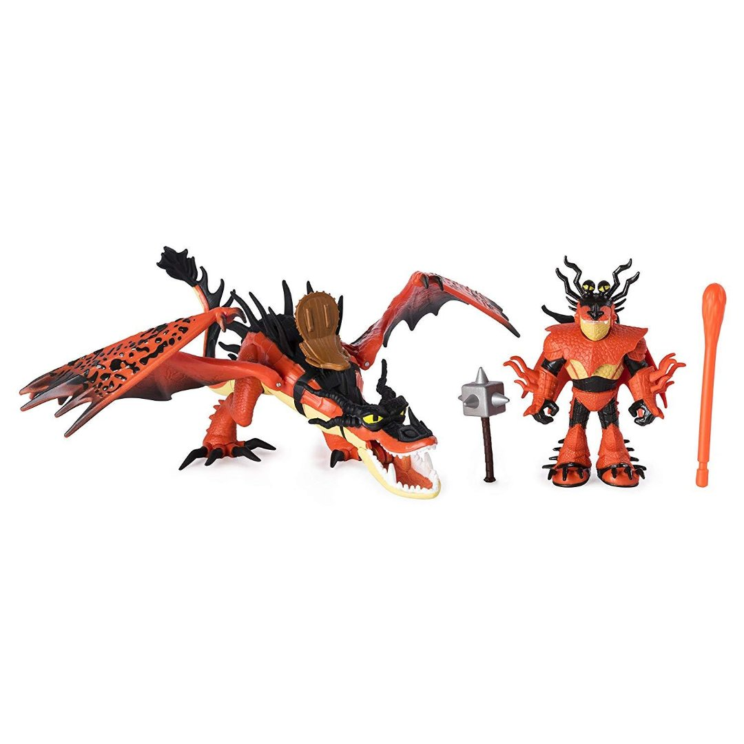 How To Train Your Dragon Hookfang & Snotlout Action Figure by Spin Master