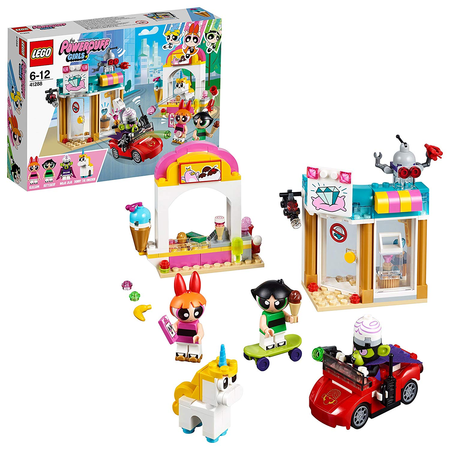 Powerpuff Girls Mojo Jojo Strikes Set by Lego -Lego - India - www.superherotoystore.com