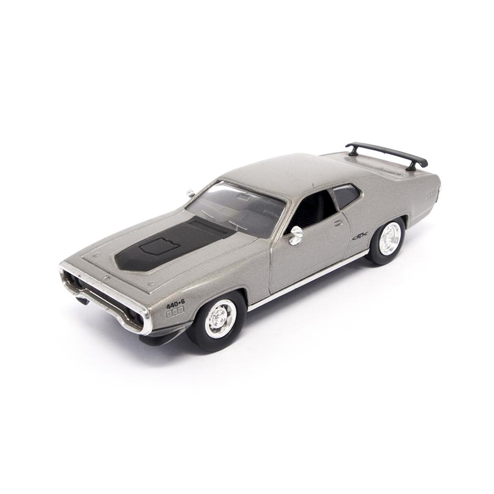 1971 Plymouth GTX 1:43 Scale Die Cast Car by Lucky Die Cast (LDC)