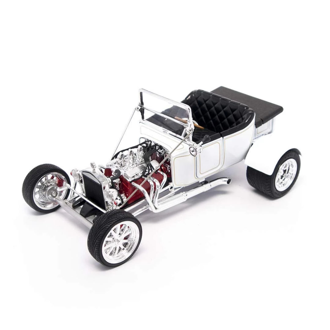 1923 White Ford T-Bucket 1:18 Scale Die Cast Car by Lucky Die Cast
