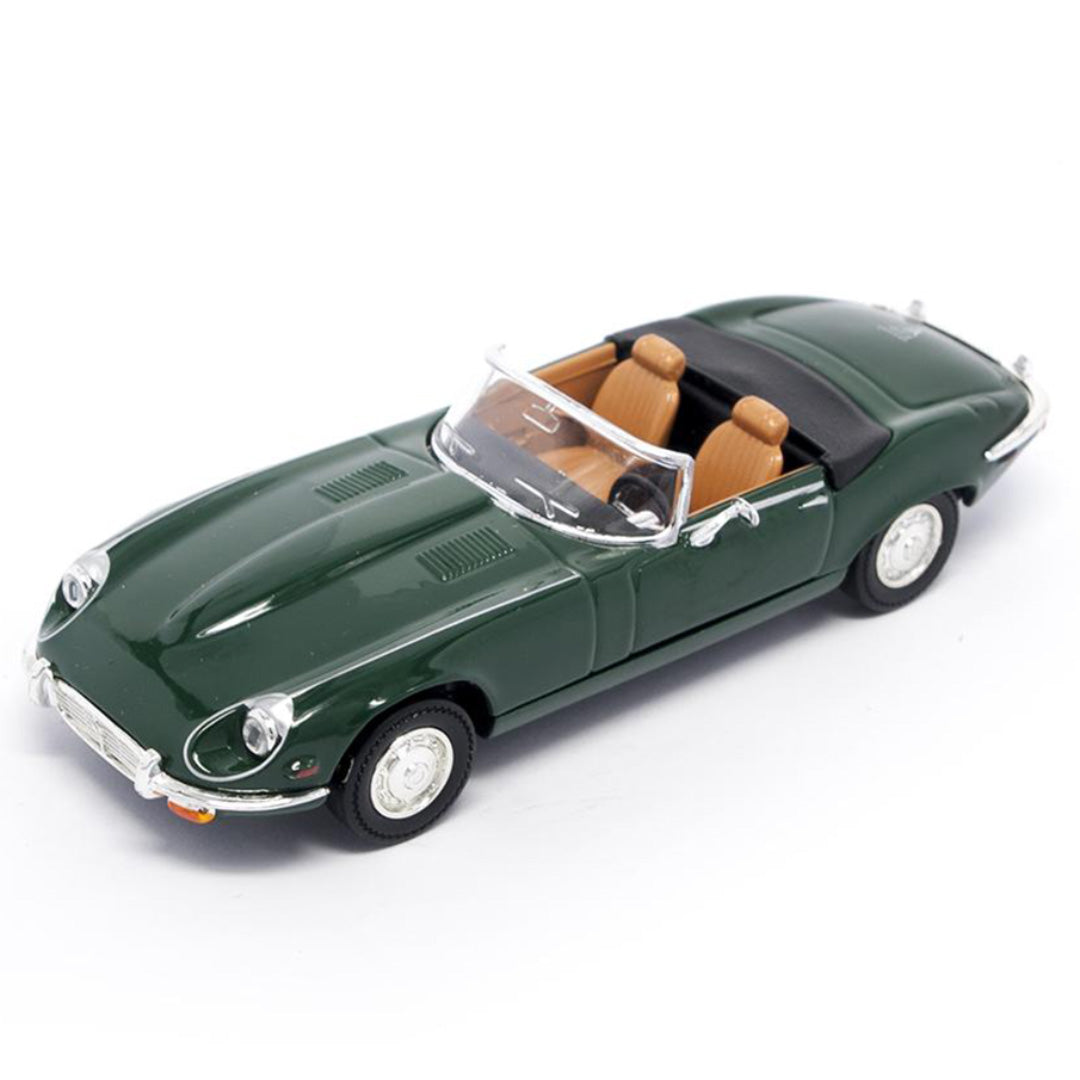 1971 Jaguar E Type Convertible 1:43 Scale Die Cast Car by Lucky Die Cars (LDC)