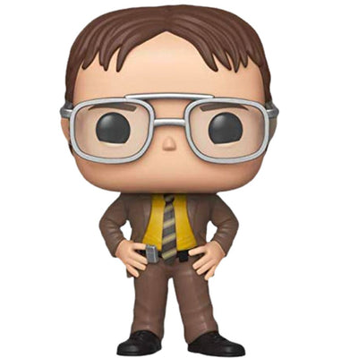The Office: Dwight Schrute Pop Vinyl Figure by Funko -Funko - India - www.superherotoystore.com