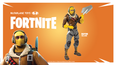Fortnite Raptor Action Figure by McFarlane Toys