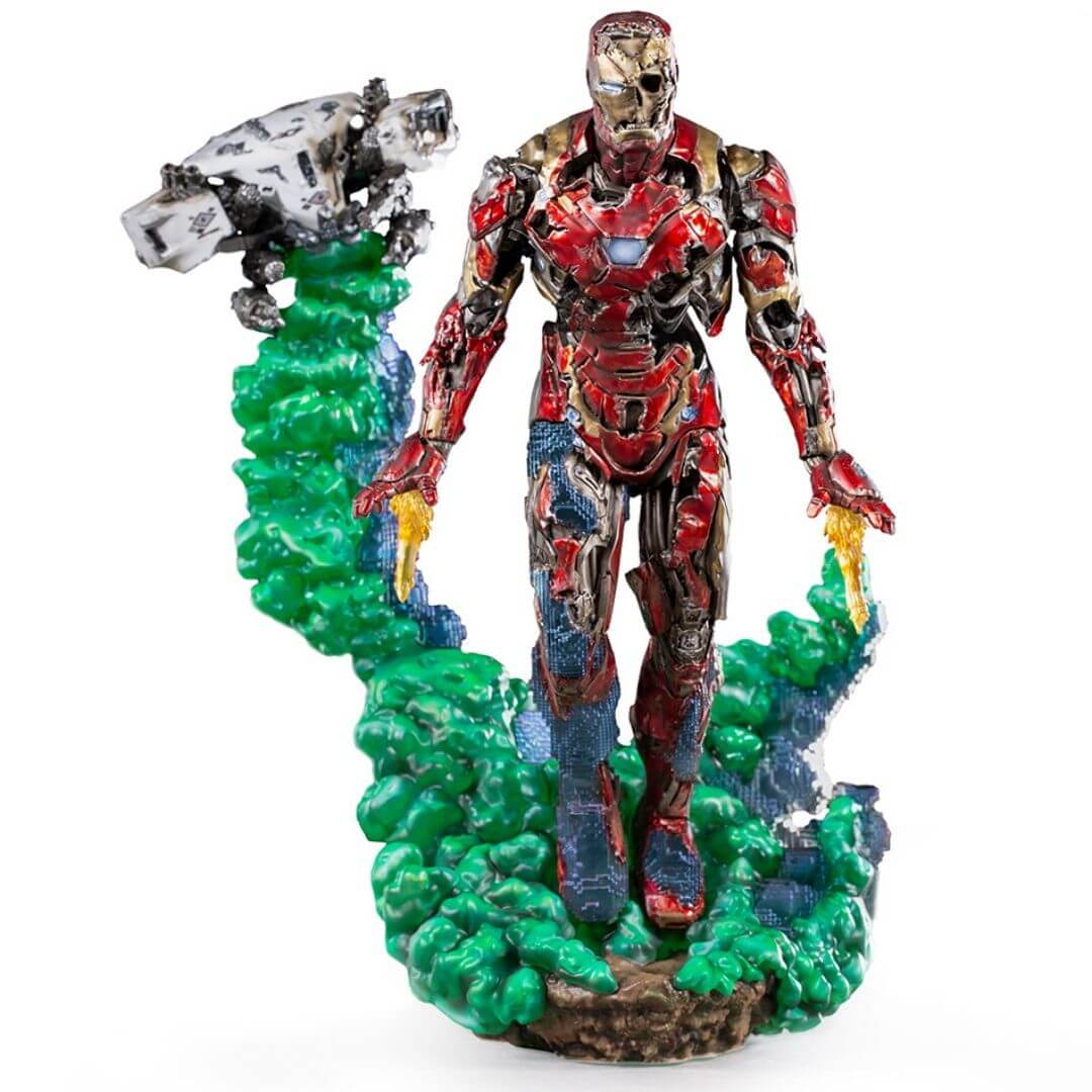 Spiderman Far From Home Iron Man Illusion Deluxe 1:10th Scale Statue by Iron Studios -Iron Studios - India - www.superherotoystore.com