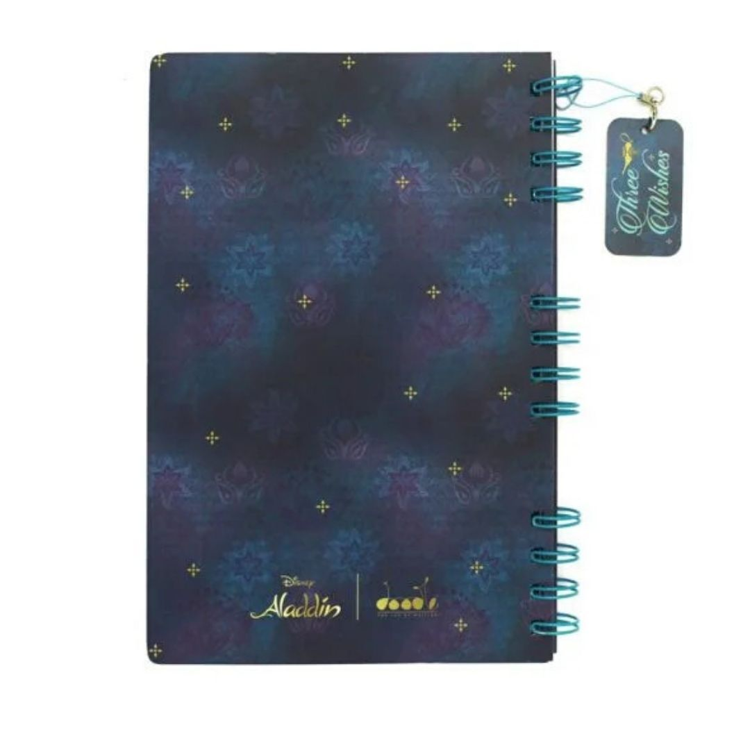 Aladdin - Genie Notebook -Doodle Collection - India - www.superherotoystore.com