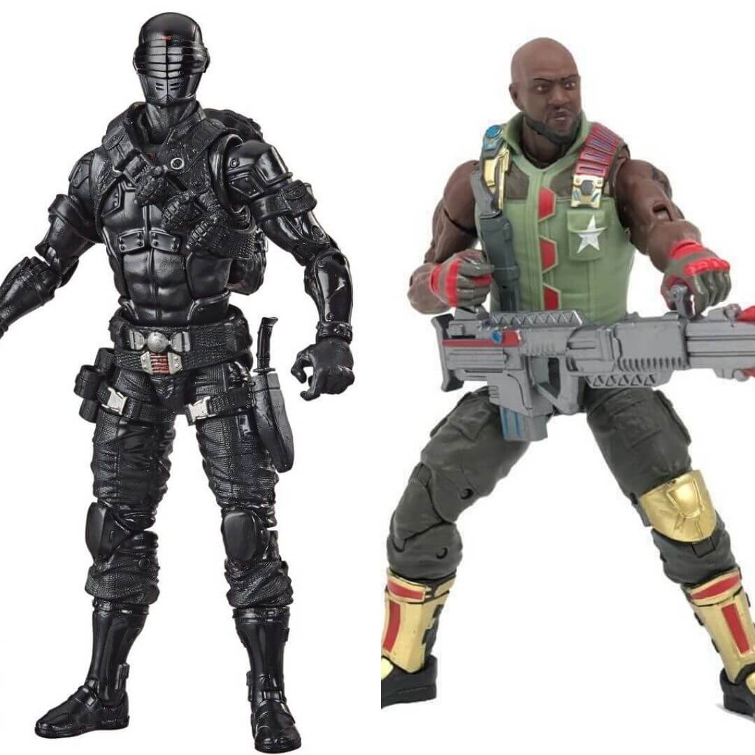 GI Joe Classified Series Snake Eyes & Road Block 2 Pack by Hasbro -Hasbro - India - www.superherotoystore.com