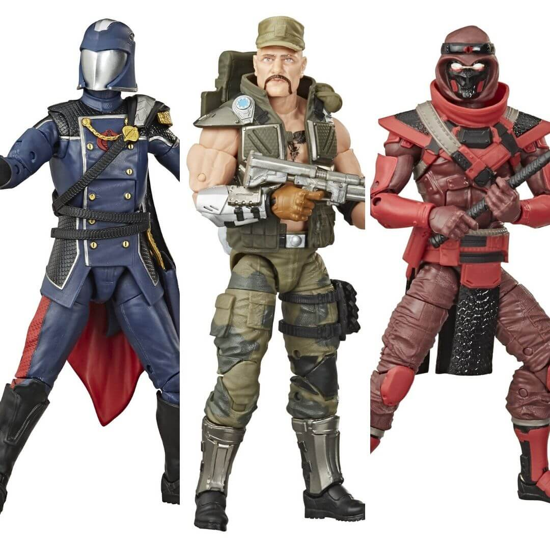 GI Joe Classified Wave 2 Figure Set by Hasbro -Hasbro - India - www.superherotoystore.com