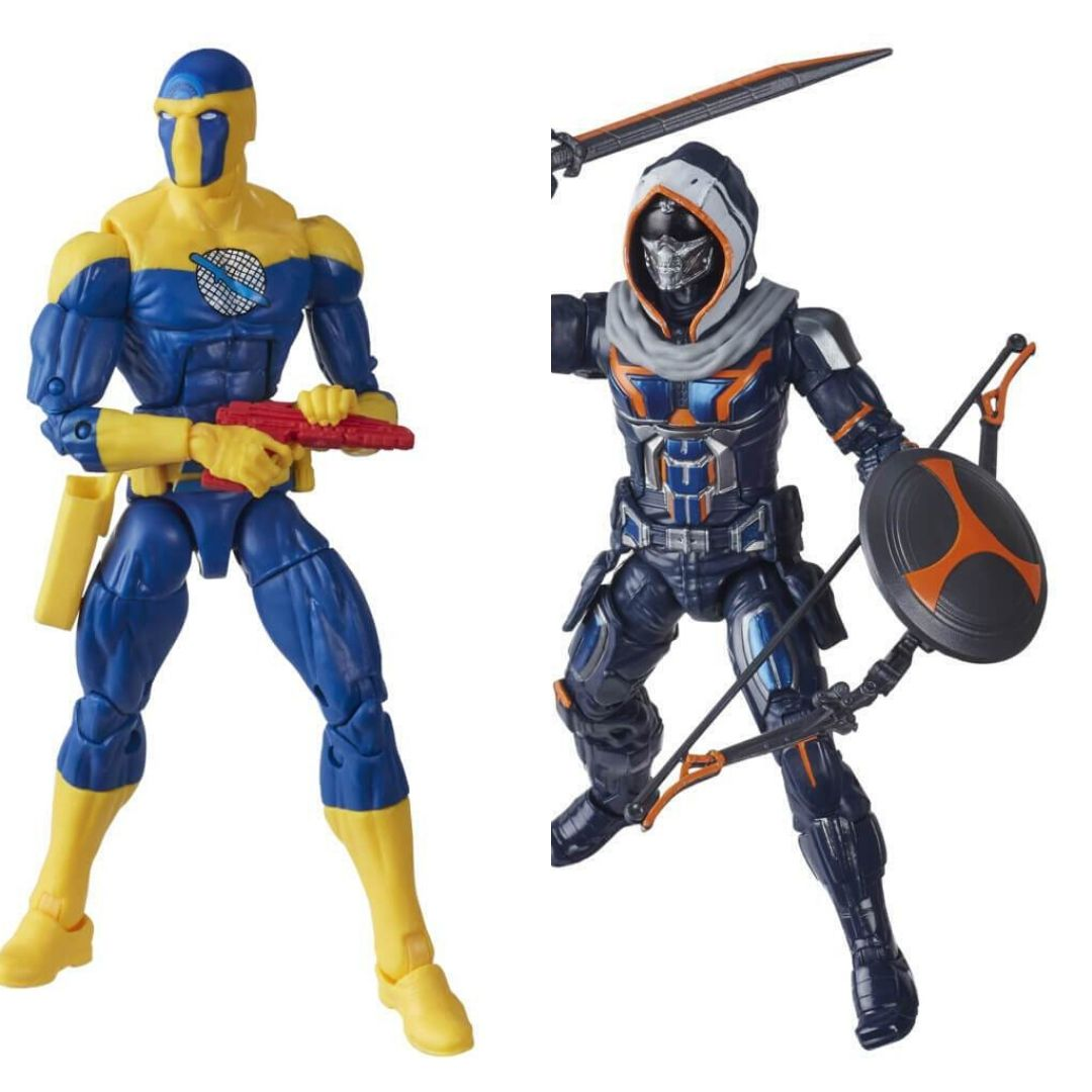 Black Widow Movie: Taskmaster & Spymaster Marvel Legends Figure Set by Hasro -Hasbro - India - www.superherotoystore.com
