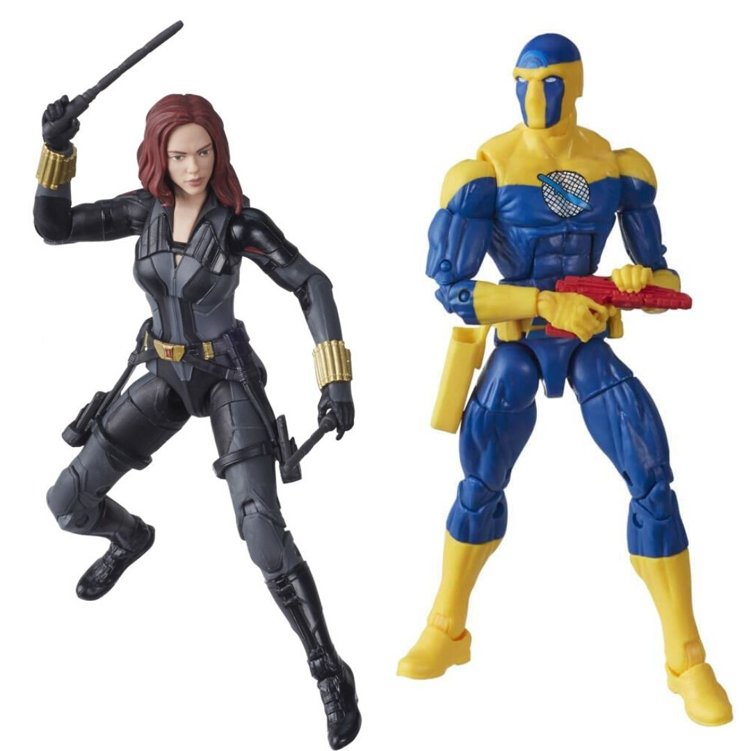 Black Widow Movie: Black Widow & Spymaster Marvel Legends Figure Set by Hasbro -Hasbro - India - www.superherotoystore.com
