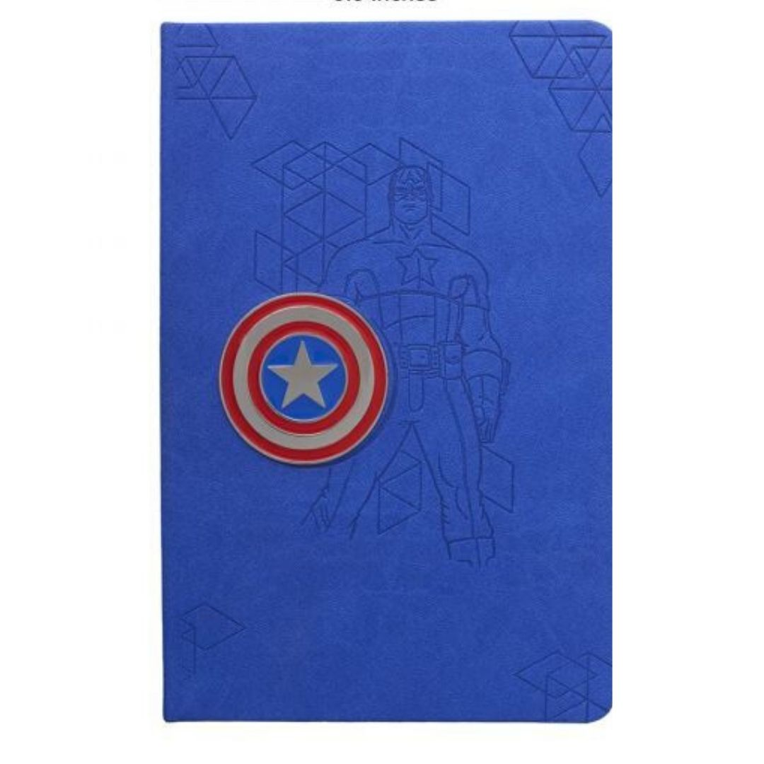Captain America - PU Diary Notebook -Doodle Collection - India - www.superherotoystore.com