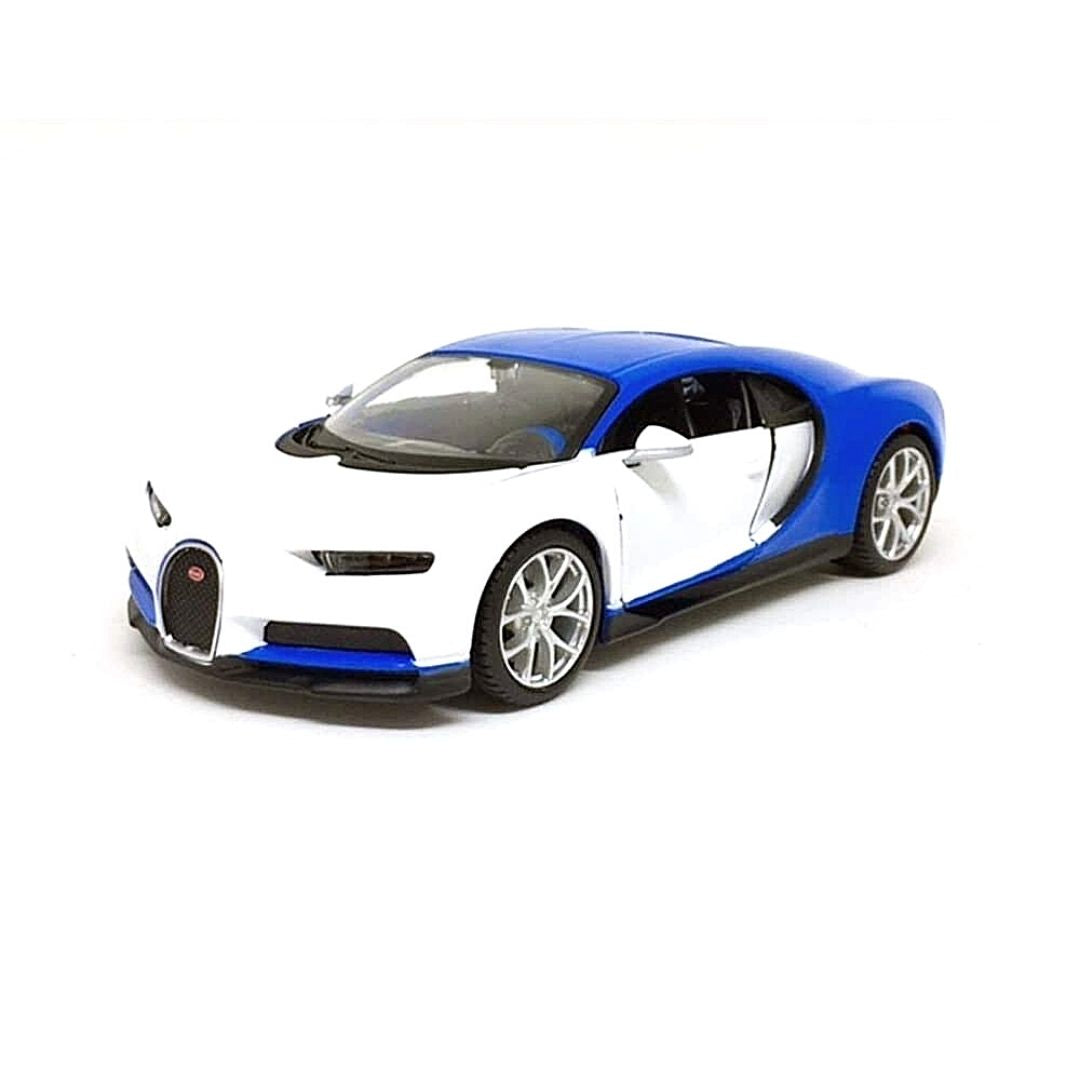 Maisto Design 1:24 Scale Bugatti Chiron Die-Cast Car by Maisto -Maisto - India - www.superherotoystore.com