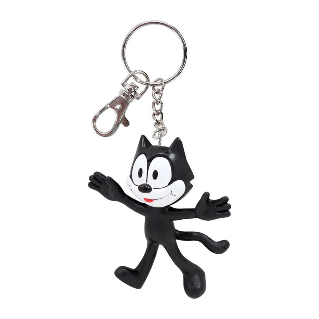Felix The Cat Bendable Keychain by NJ Croce