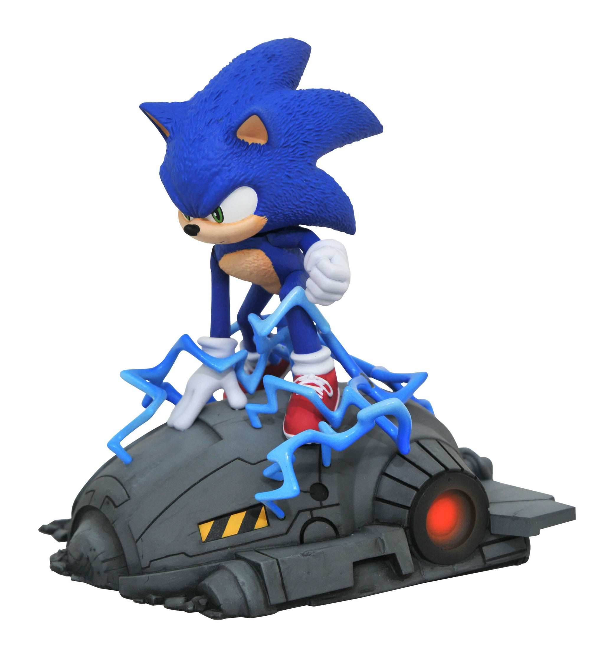 Sonic 1 6 Scale Movie Statue By Diamond Select Toys Now Superherotoystore