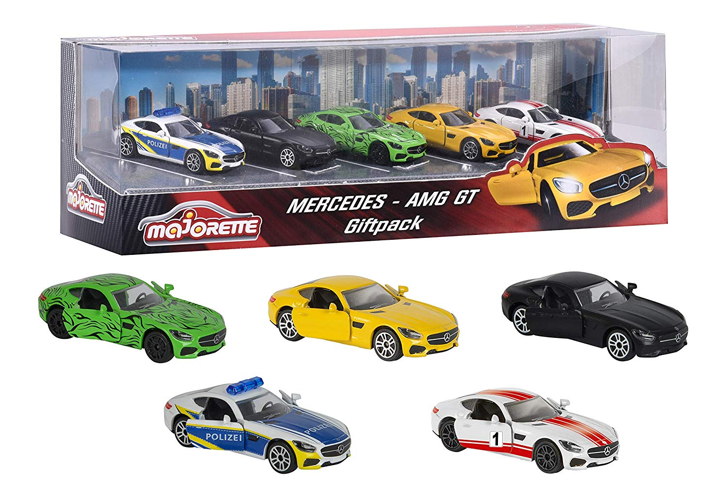 Mercedes Benz AMG GT 5 Pack by Majorette -Majorette - India - www.superherotoystore.com