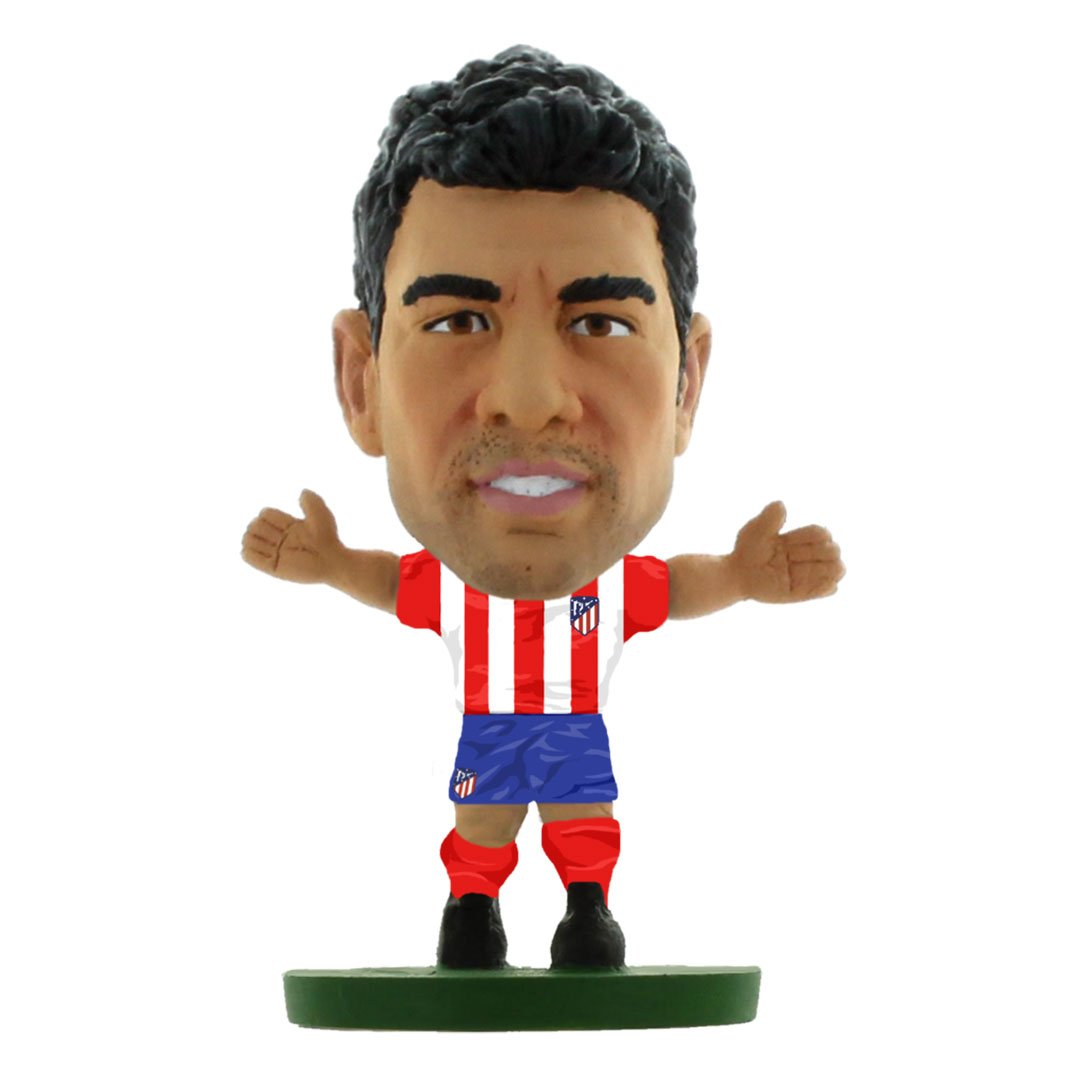 Diego Costa  - Atletico Madrid - Home Kit (Classic) (Old Shirt # 18) Figure by Soccer Starz -Soccer Starz - India - www.superherotoystore.com