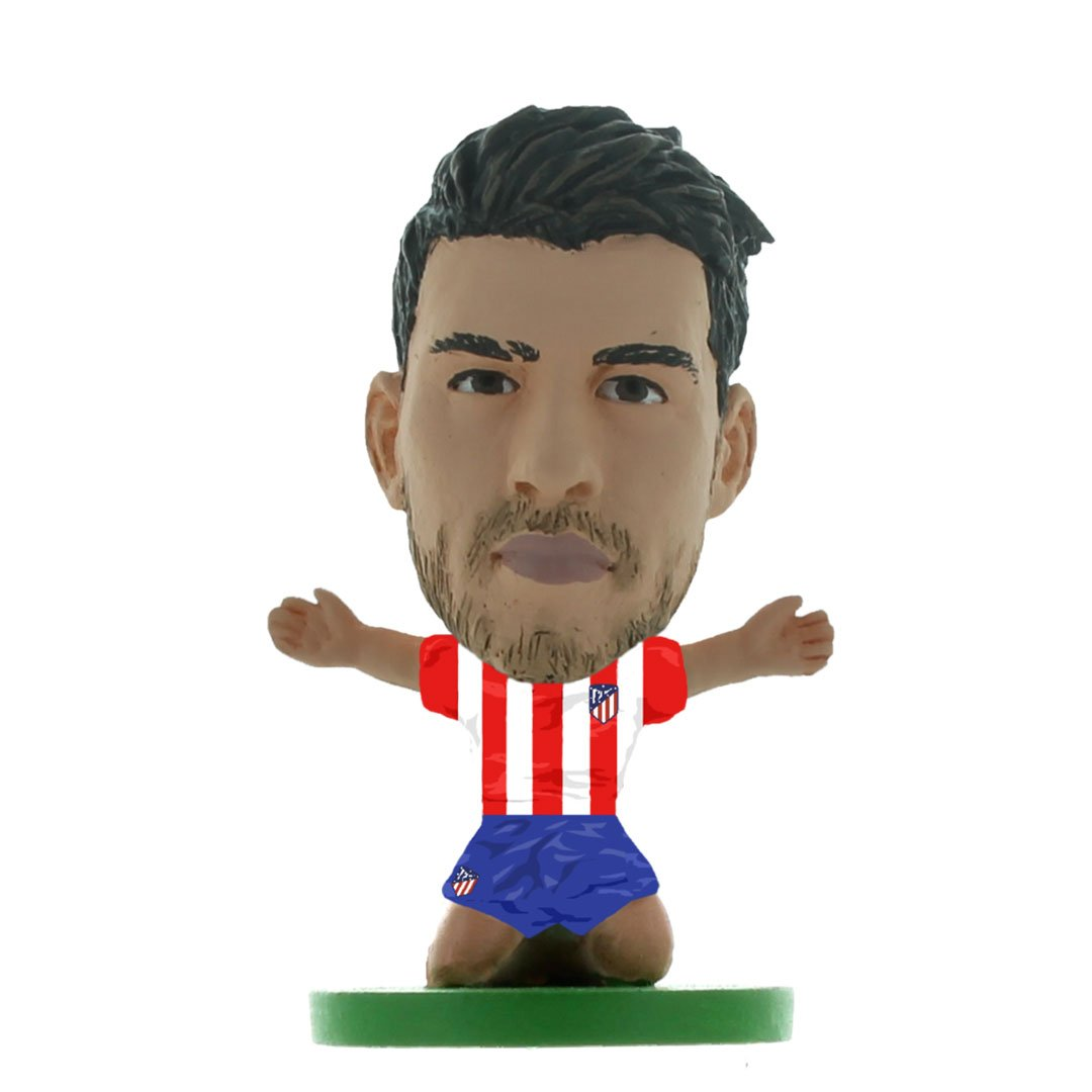 Alvaro Morata - Atletico Madrid - Home Kit (Classic Version) Figure by Soccer Starz