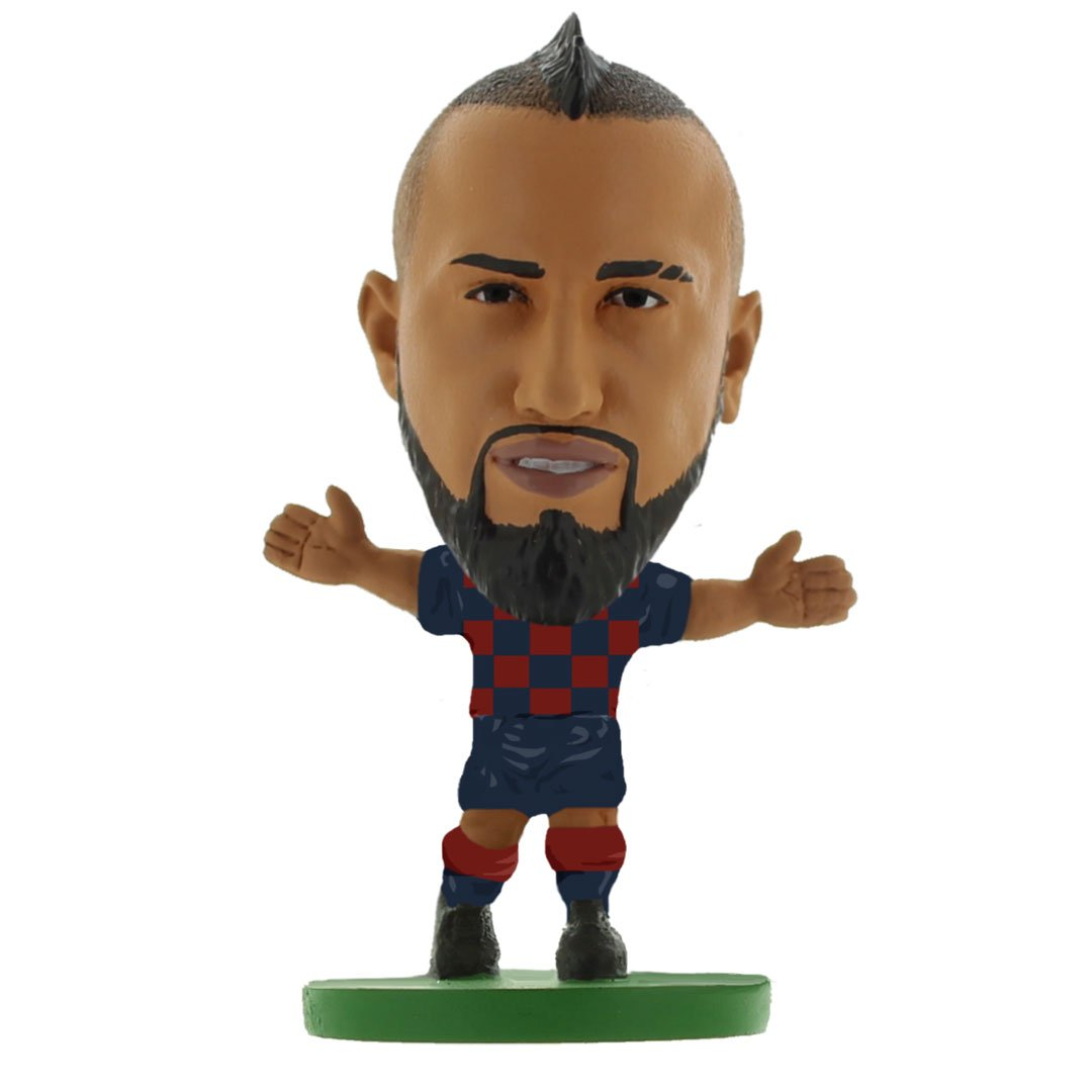 Arturo Vidal - Barcelona - Home Kit (2020 Version) Figure by Soccer Starz