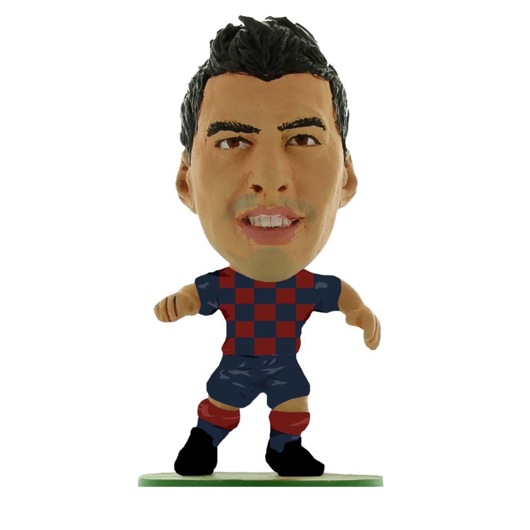 Luis Suarez - Barcelona - Home Kit (2020 Version) Figure by Soccer Starz -Soccer Starz - India - www.superherotoystore.com