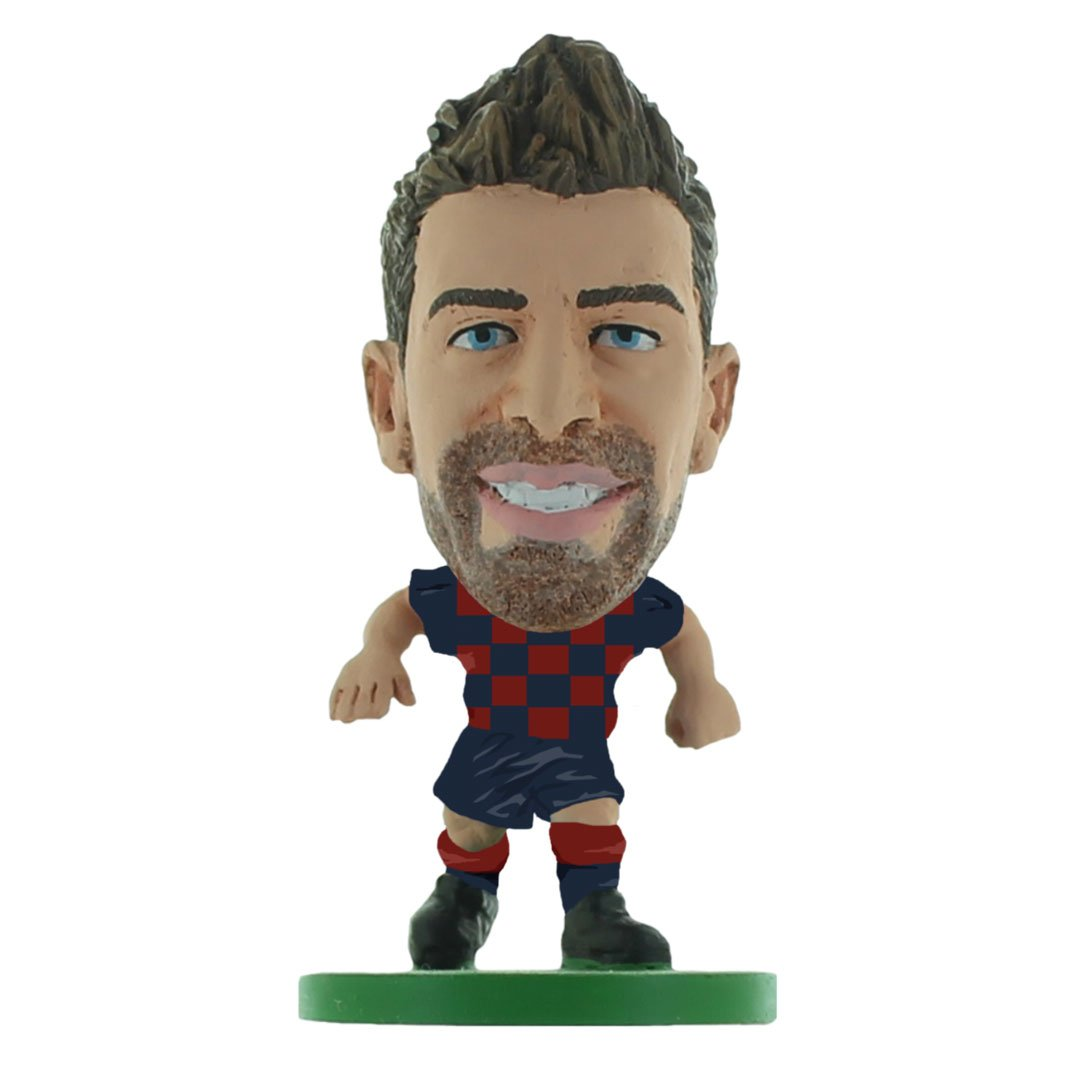 Gerard Pique - Barcelona - Home Kit (2020 Version) Figure by Soccer Starz -Soccer Starz - India - www.superherotoystore.com