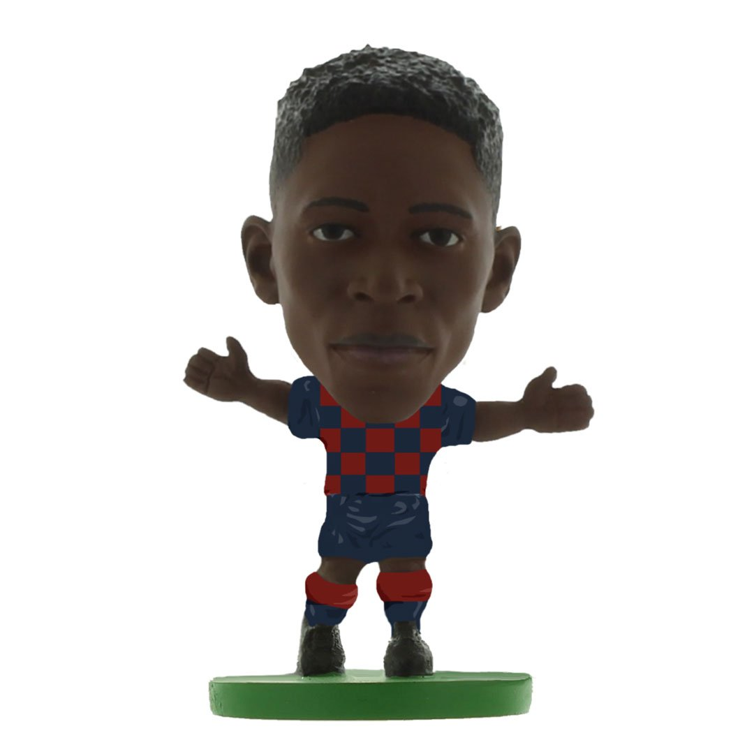 Ousmane Dembele - Barcelona - Home Kit (2020 Version) Figure by Soccer Starz -Soccer Starz - India - www.superherotoystore.com