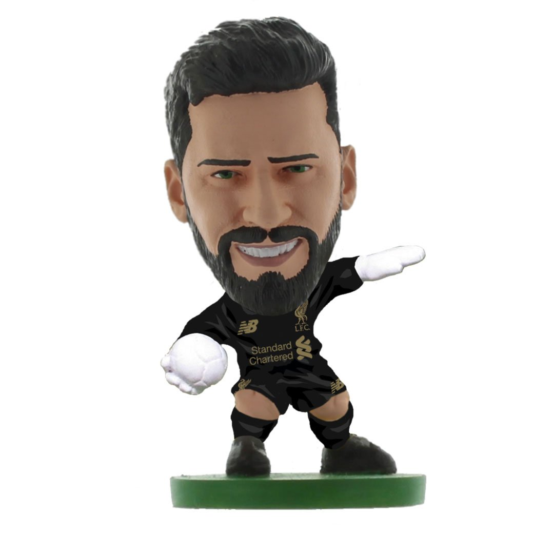 Alisson - Liverpool - Home Kit (2020 Version) Figure by Soccer Starz