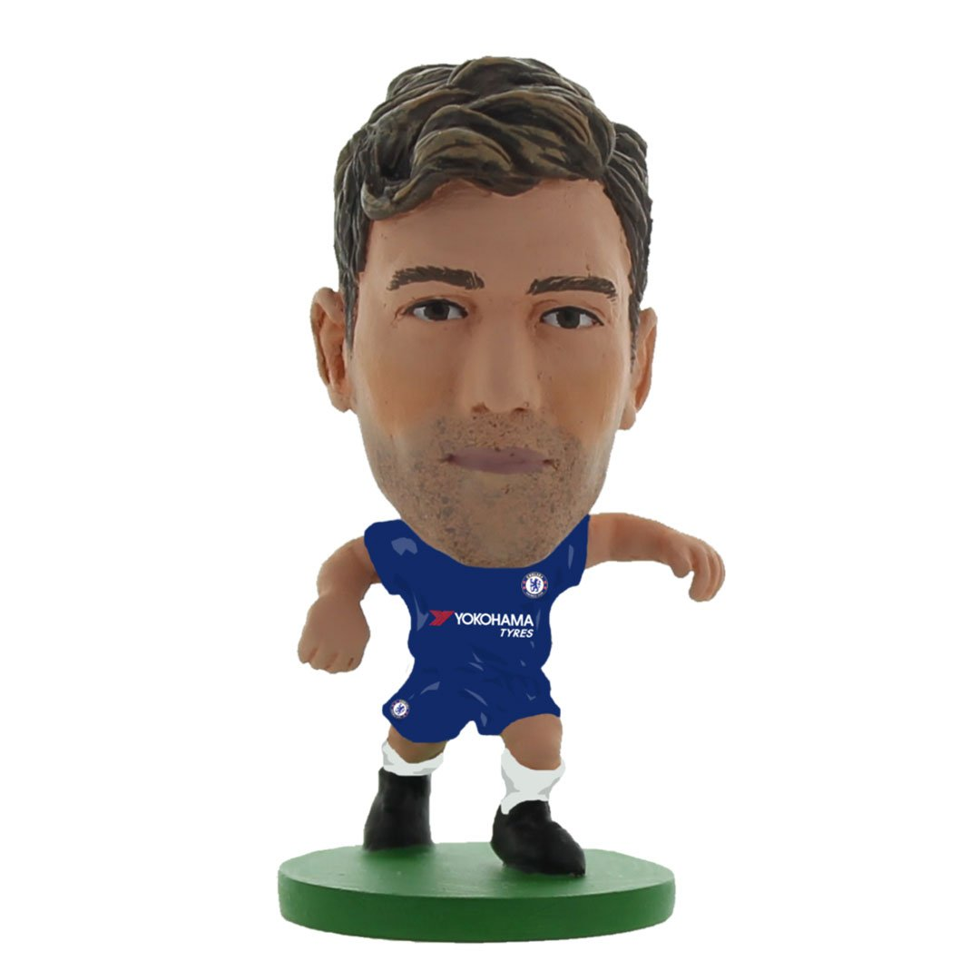 Marcos Alonso - Chelsea  - Home Kit (2020 Version) Figure by Soccer Starz -Soccer Starz - India - www.superherotoystore.com