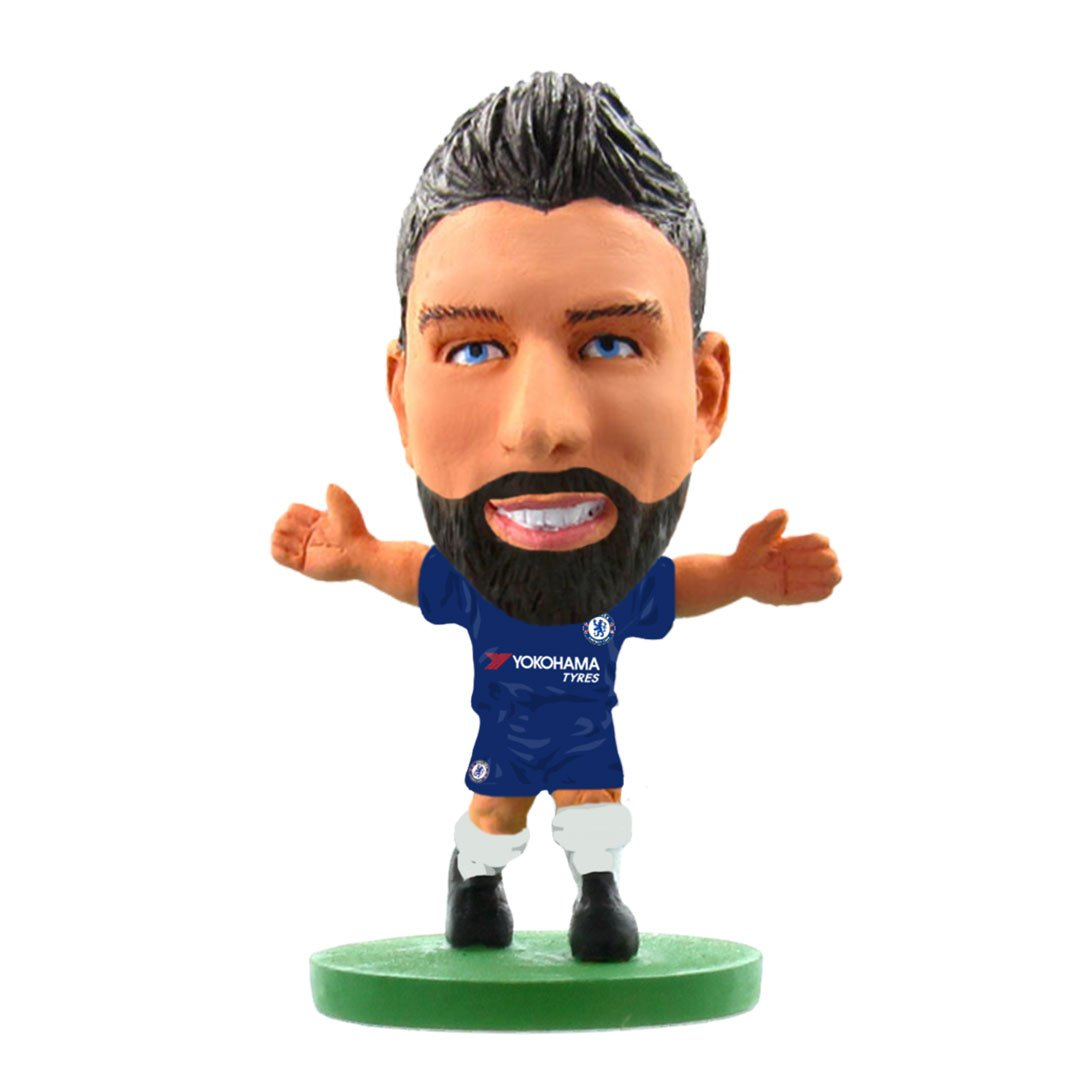 Olivier Giroud - Chelsea  - Home Kit (2020 Version) Figure by Soccer Starz -Soccer Starz - India - www.superherotoystore.com