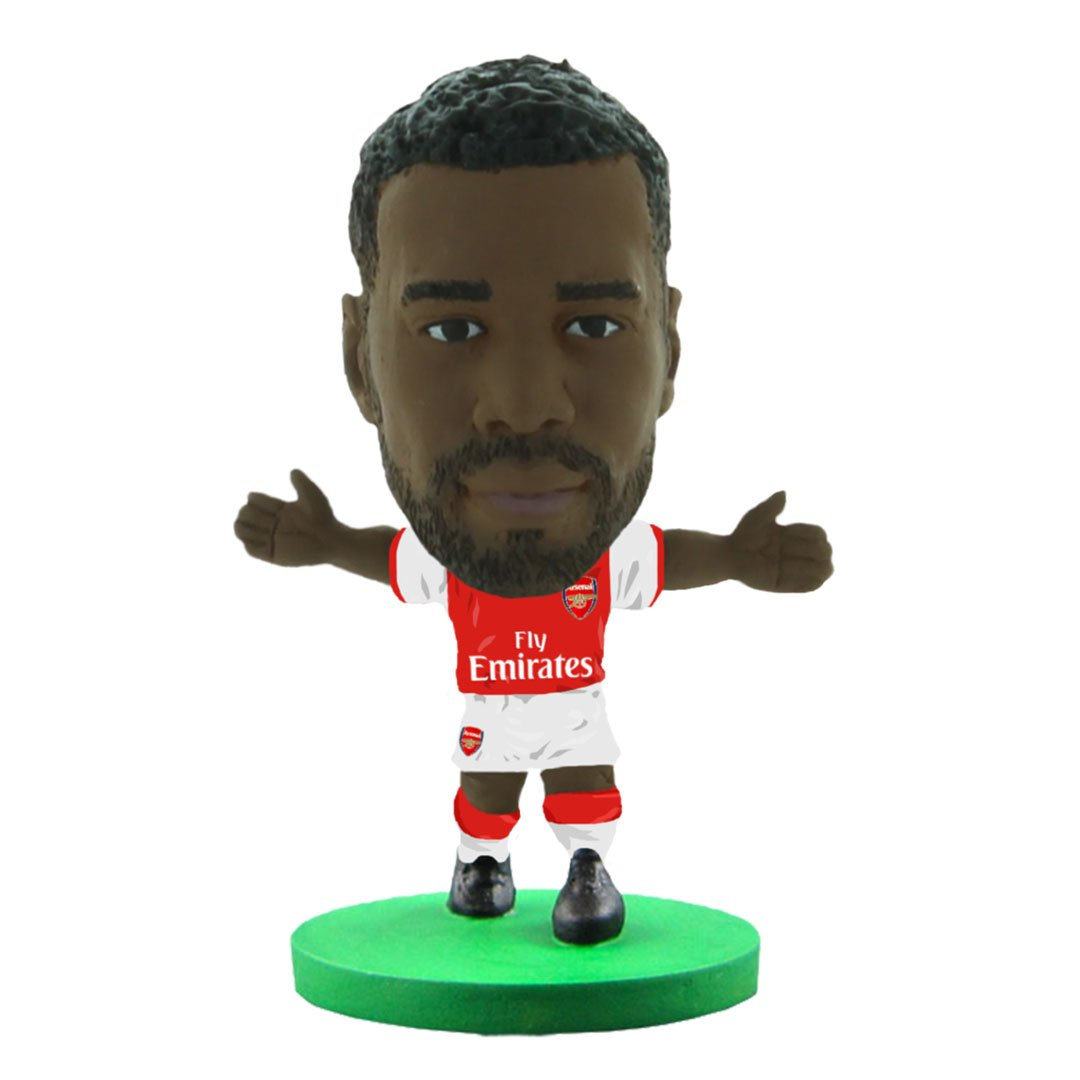 Alexandre Lacazette - Arsenal - Home Kit (Classic Version) Figure by Soccer Starz