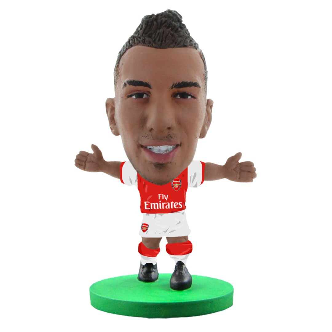 Pierre-Emerick Aubameyang - Arsenal - Home Kit (Classic Version) Figure by Soccer Starz -Soccer Starz - India - www.superherotoystore.com