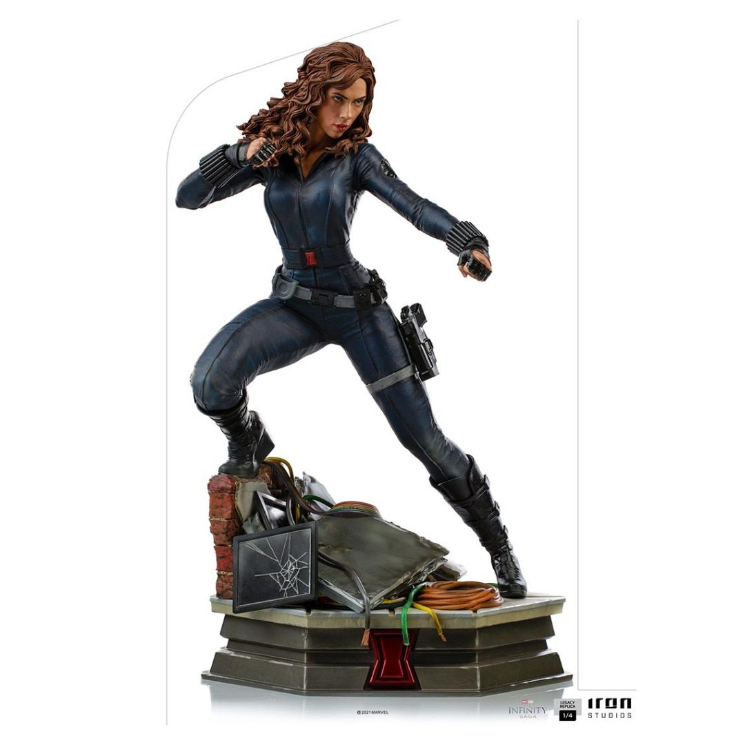 Avengers: Infinity Saga Black Widow 1/4th Scale Statue by Iron Studios -Iron Studios - India - www.superherotoystore.com