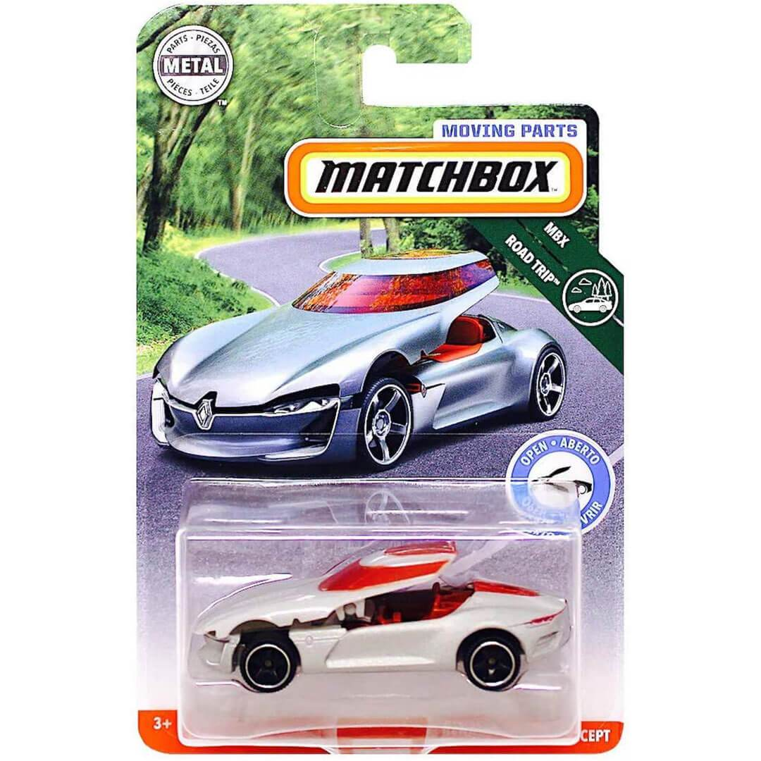 Moving Parts Renault Trezor Concept 1:64 Scale Die-Cast Car by Matchbox -Matchbox - India - www.superherotoystore.com