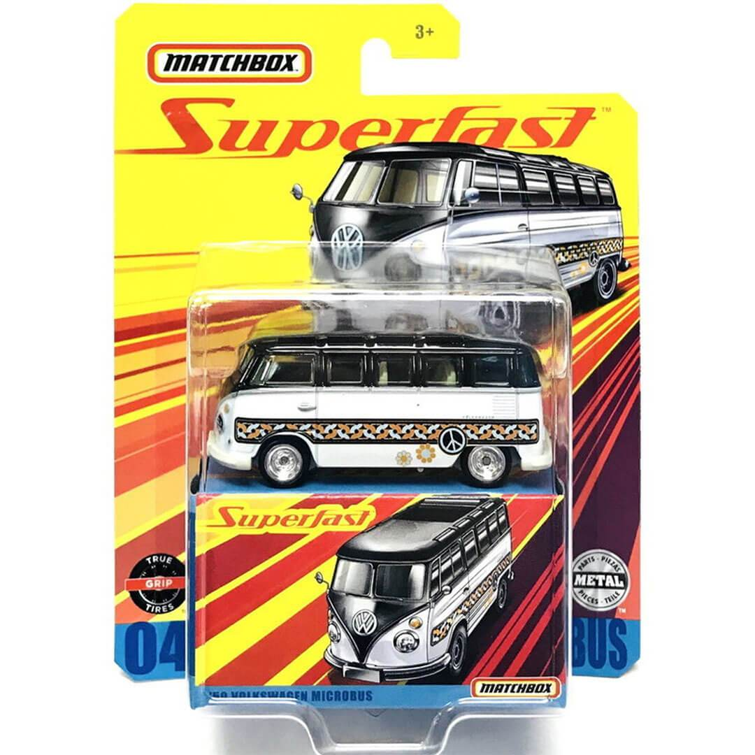 Superfast 1959 Volkswagen Microbus 1:64 Scale Die-Cast Car by Matchbox -Matchbox - India - www.superherotoystore.com
