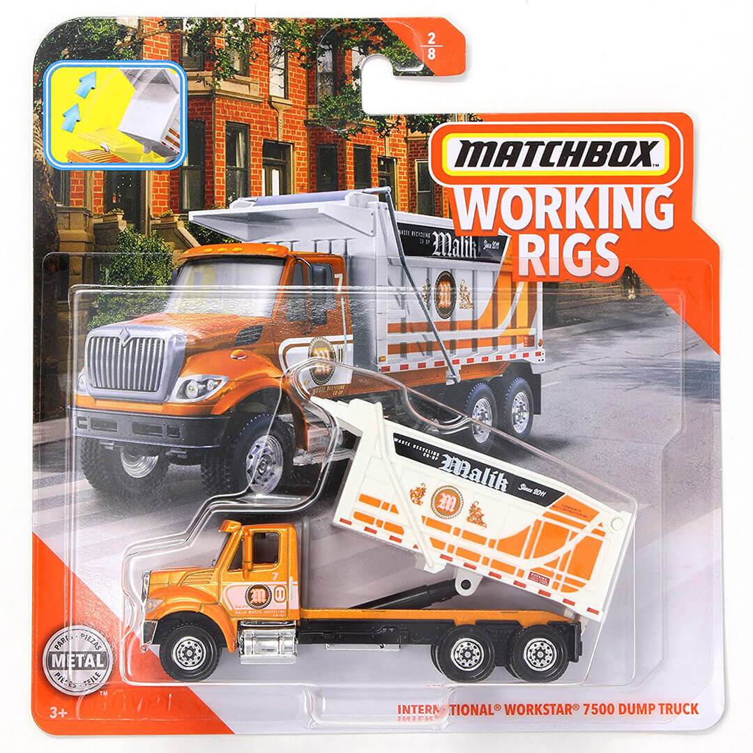 Working Rigs International Workstar 7500 Dump Truck by Matchbox -Matchbox - India - www.superherotoystore.com