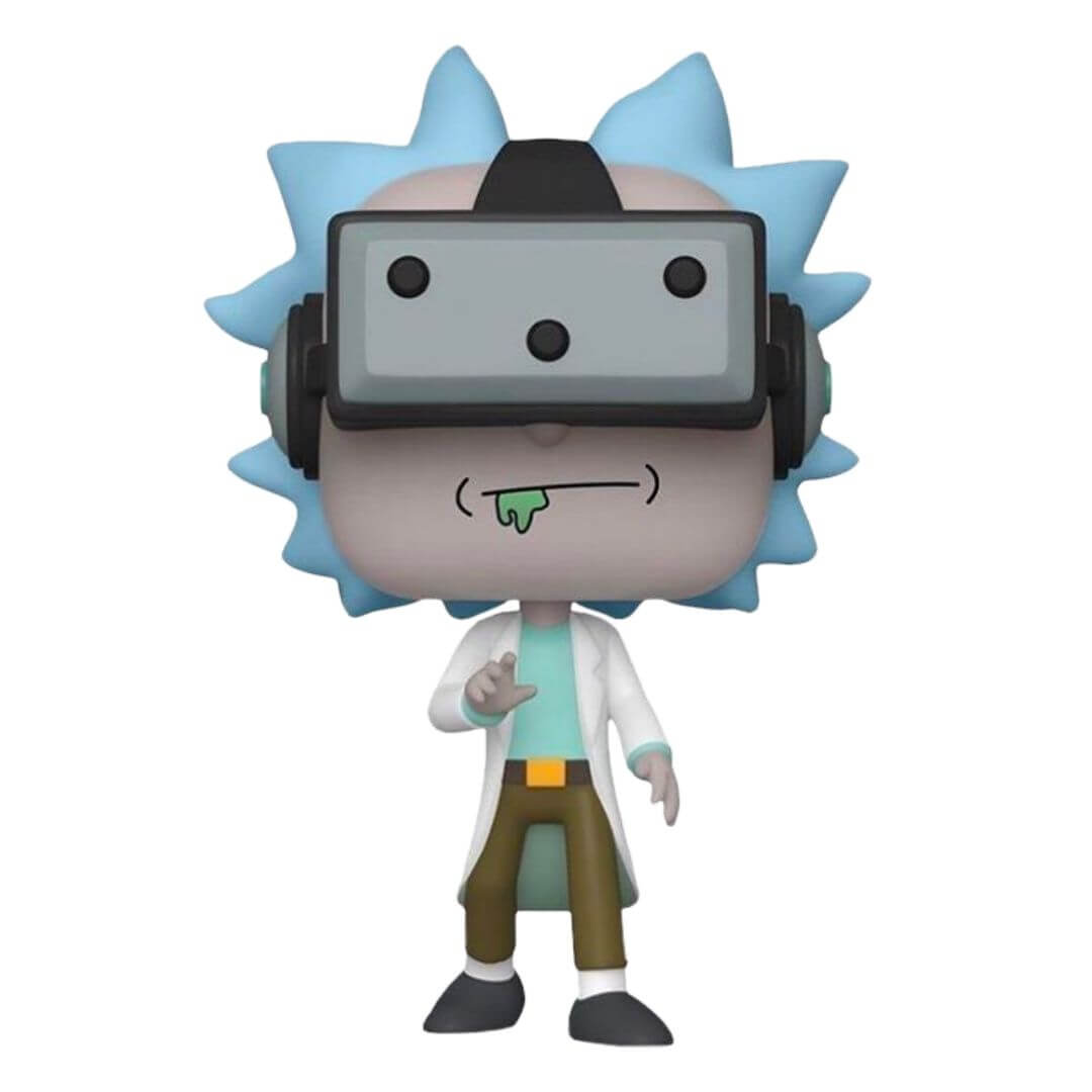 Rick and Morty Gamer Rick Pop! Vinyl Figure by Funko -Funko - India - www.superherotoystore.com