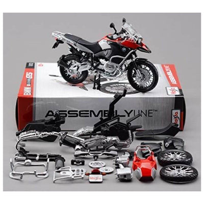 Assembly Line 1:12 Scale BMW R 1200 GS Die-Cast Model Kit by Maisto -Maisto - India - www.superherotoystore.com