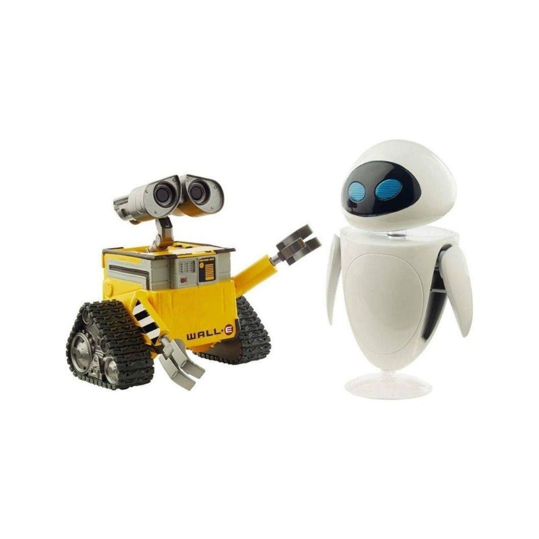 Disney Pixar Wall.E & Eve Figure Set by Mattel -Mattel - India - www.superherotoystore.com