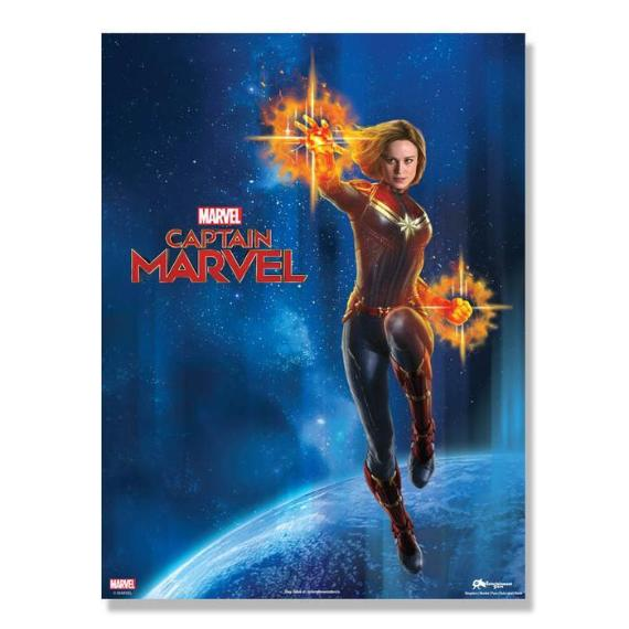 Captain Marvel Official Poster -Superherotoystore.com - India - www.superherotoystore.com