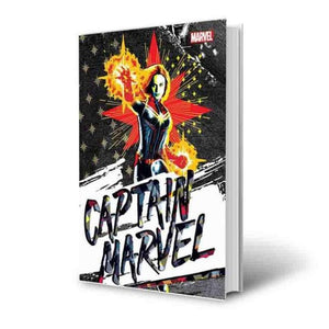 Captain Marvel Official Notebook